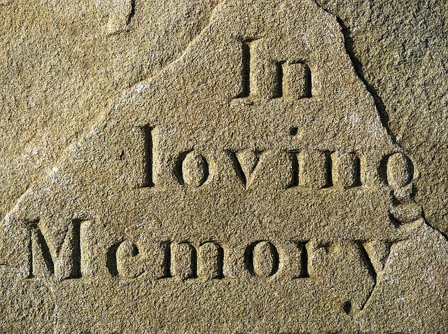 Grabstein - eine Erinnerung für die Ewigkeit