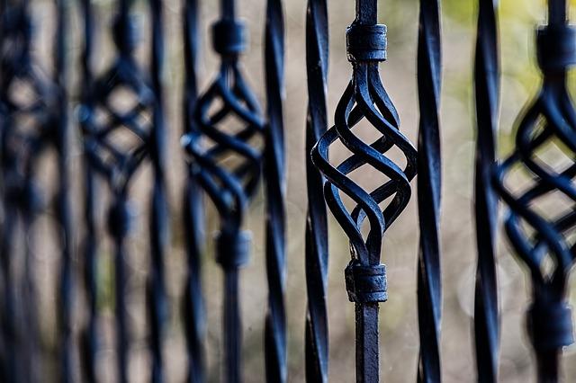 Schmiedeeisen Zaun -Zaun aus Schmiedeeisen - Ein Zaun mit vielen Vorteilen
